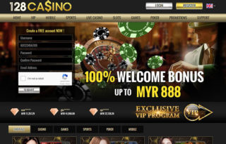 128Casino Review