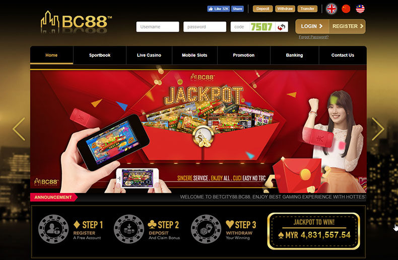 Betcity88 Review