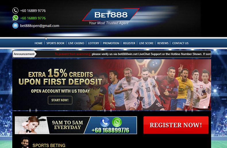 Bet 888 Casino Review