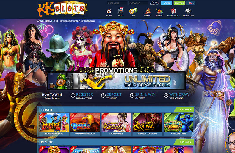 KK Slots Review